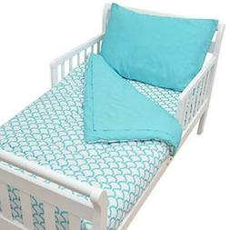 American Baby Company 100% Cotton Percale 4-Piece Toddler Aq