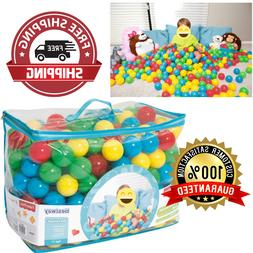 """2.5"""" Play Balls Assorted 500pc Color Ball Smooth Seam Plaype"""