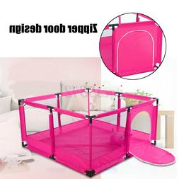 50''x26'' Kids Safety Baby Playpen Home Pen Fence Play Cente