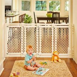 """North States 62"""" Wide Extra-Wide Baby Gate: Smoothly Opens a"""