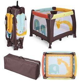 Baby Playard Delta Children Playpen Compact Fold Includes Ma