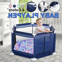 Baby Playpen Interactive Kids Play Playard Ocean Ball Safety
