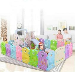 Baby Playpen Kids Activity Center - 14 Panel Safety Play Yar
