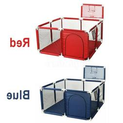 Baby Safety Playpen Play Center Kids Activity Yard Foldable