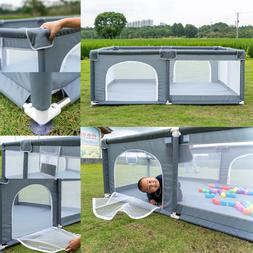 Baby Safety Playpen Play Yard Kid Activity Center Foldable I