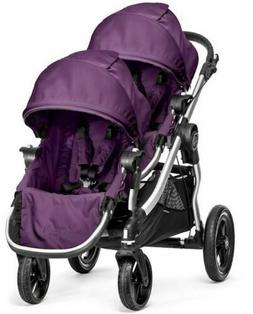 Baby Jogger City Select Twin Tandem Double Stroller Amethyst