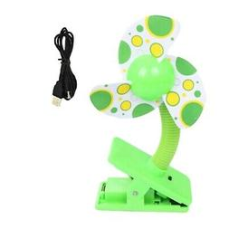 Clip-on With USB Mini Stroller Fan for Baby Cots Playpens  S