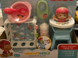 Fisher Price Little People Snack & Snooze Baby Toddler Eat B