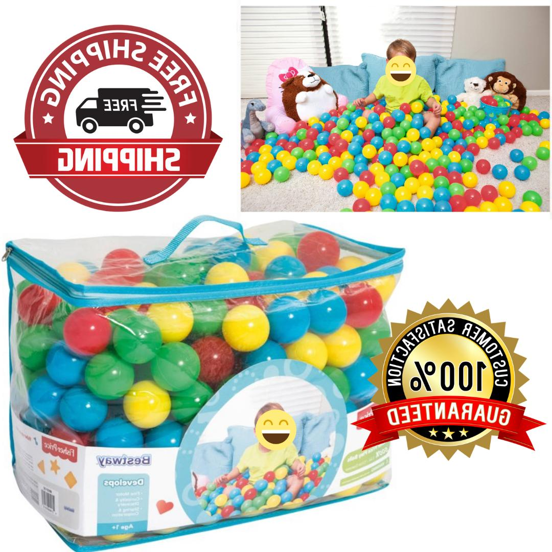 2 5 play balls assorted 500pc color