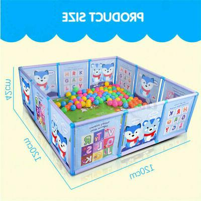 47.2*47.2in Foldable Playpen Kids Safety Yard US