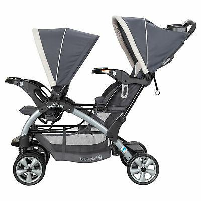 Baby Trend Sit N' Stand Easy Fold Travel Toddler Baby Double