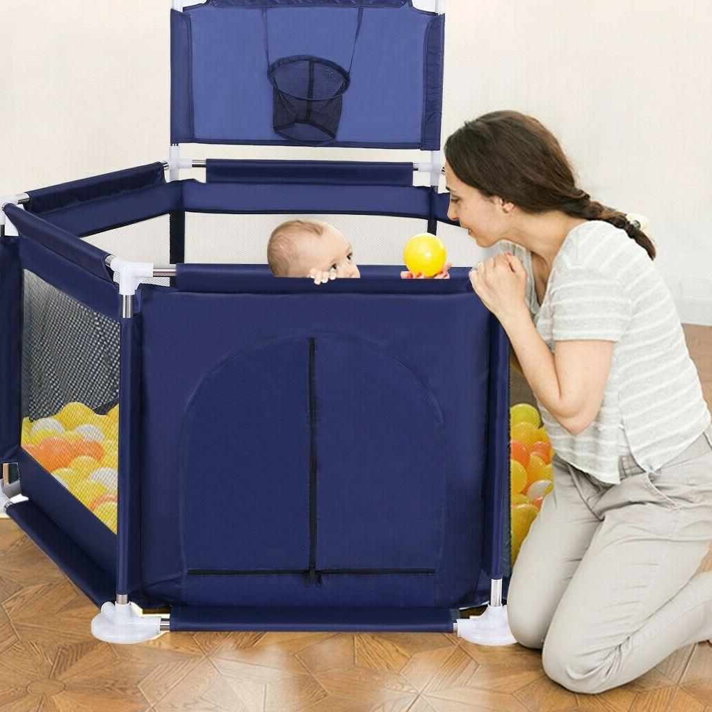 foldable baby playpen kids safety play center