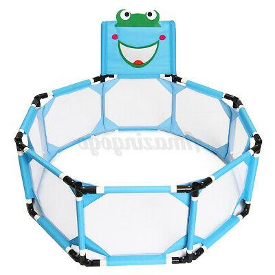 Playpen Baby Play Yard Home Safety Fence Indoor Outdoor