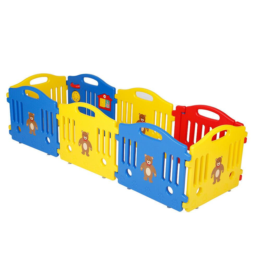 Polar Aurora Safety Play Center Baby Playpen In/Outdoor