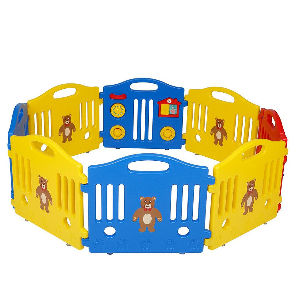 8 panel safety play center yard baby
