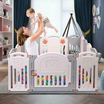 Foldable Baby 14 Panel Play Center Fence