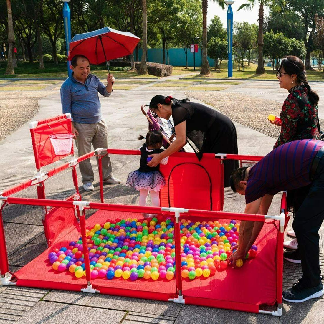 Foldable Baby Playpen Safety Center Play Pen