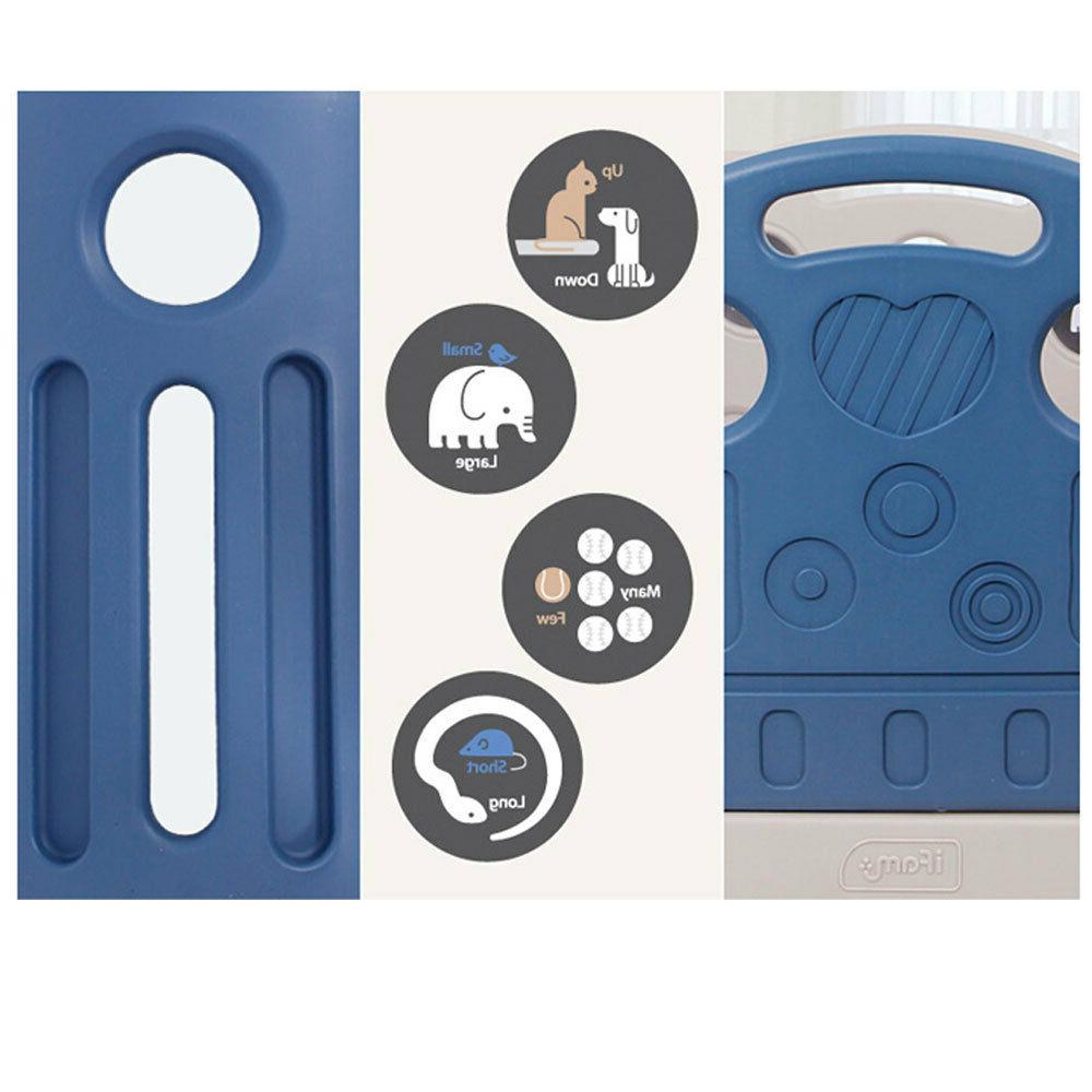 iFAM Deluxe Learnung Safefence Blue Color/Basic