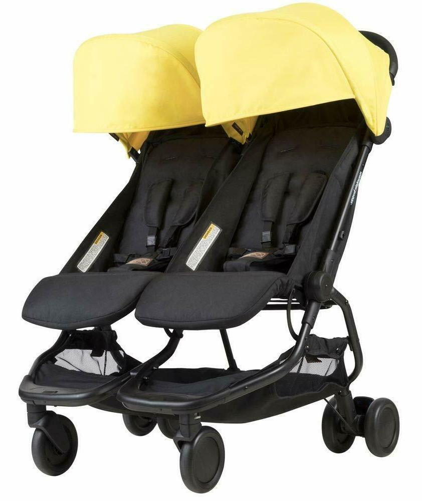 factory new nano duo double stroller cyber