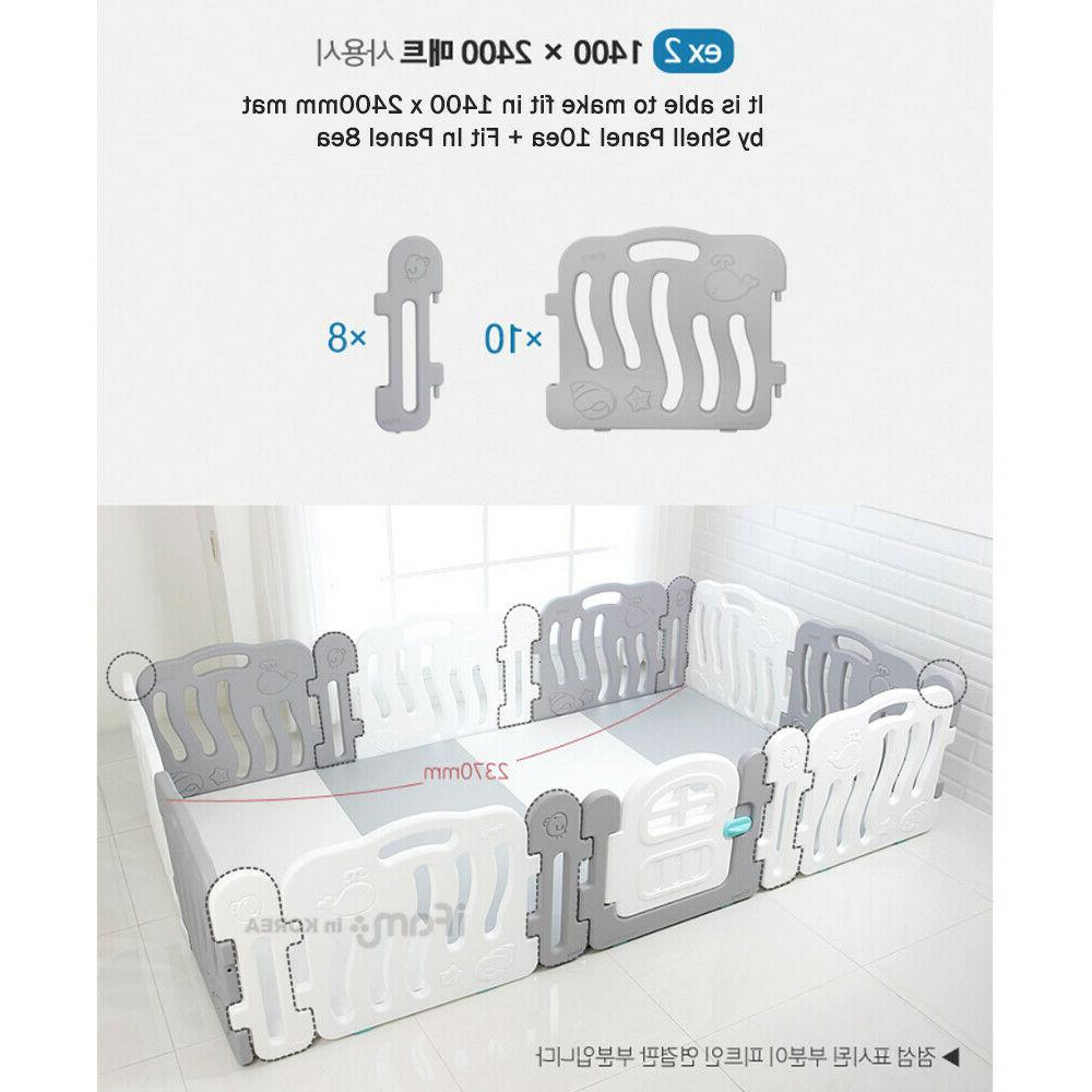 iFAM FIT Connecting Extension Panel for Safety Playpen