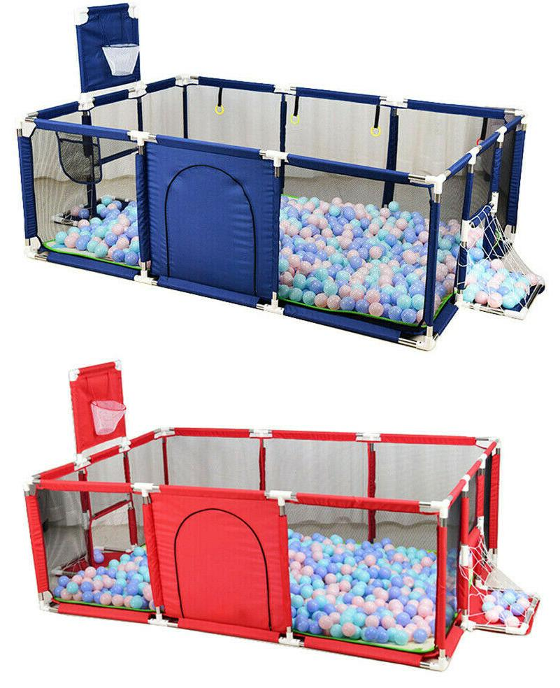 foldable baby playpen kids safety fence activity