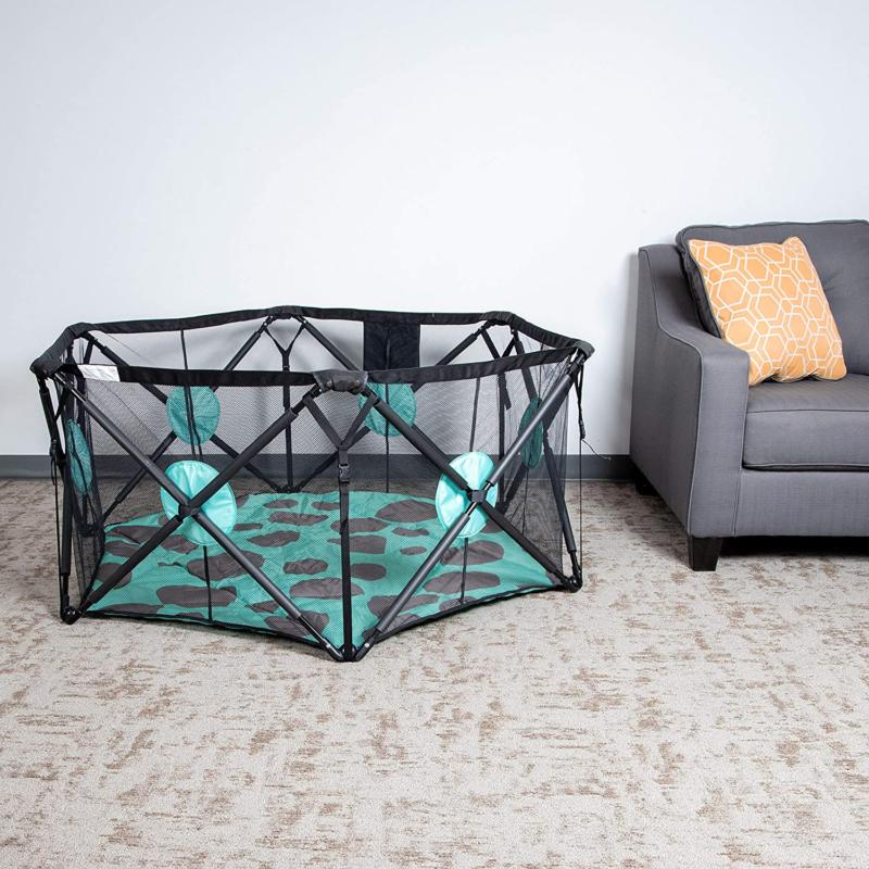 Milliard Playpen Playard With For Safety - 6-Sided, For