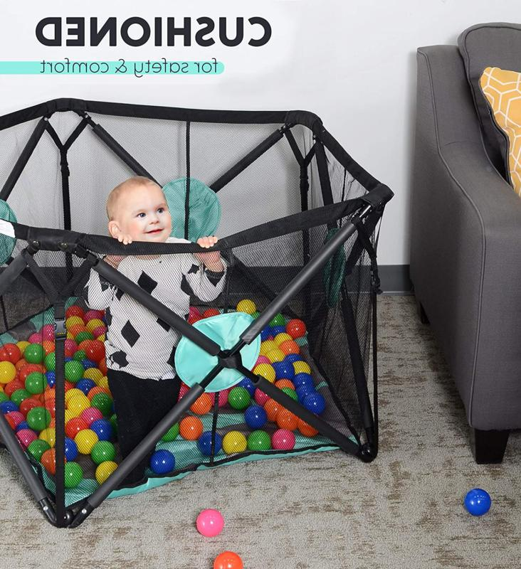 Milliard Playpen Portable With Cushioning -