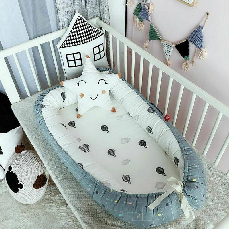 Nest Removable And Washable Crib