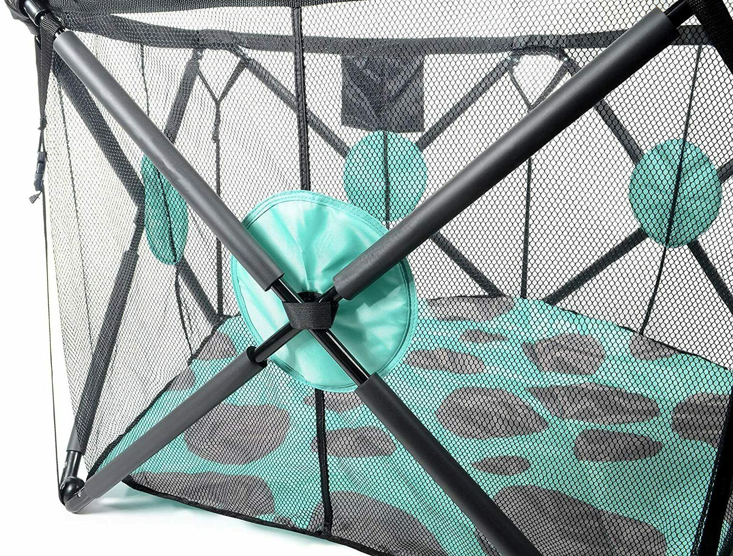 Milliard Playpen with Cushioning