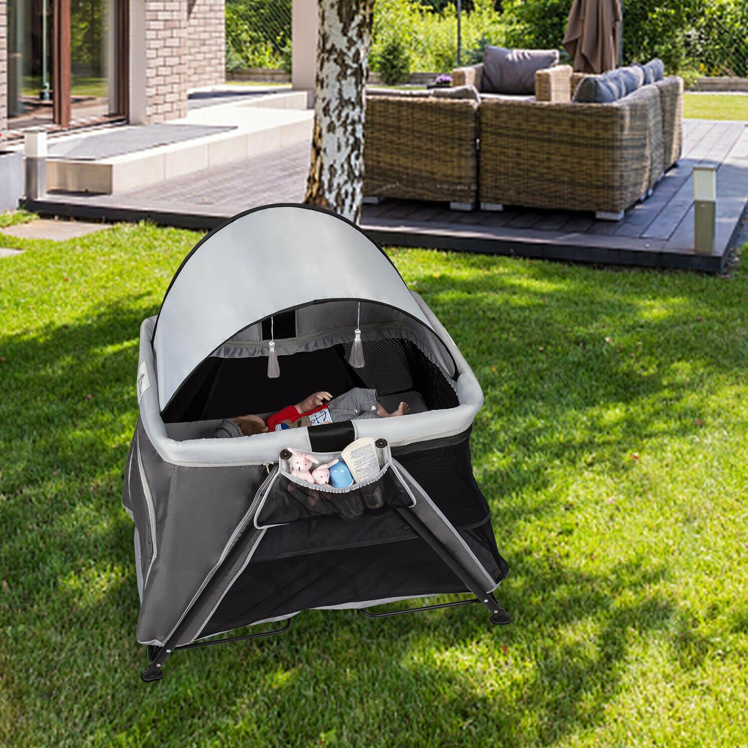 portable baby playpen playard lightweight safety play