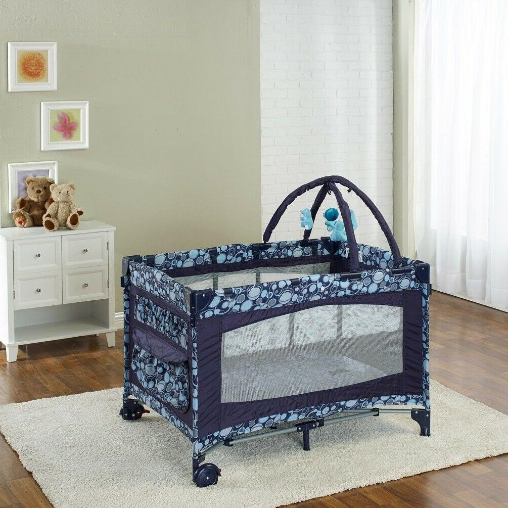 Big Portable Playard Deluxe Center Topper