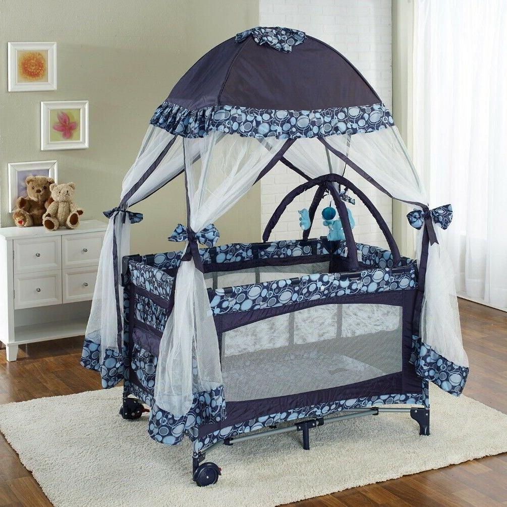 portable playard deluxe bundle nursery center