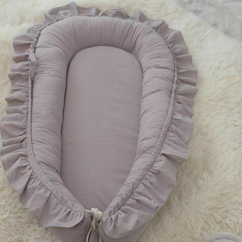 Removable Nest Baby Bed Pillow Playpen Infant