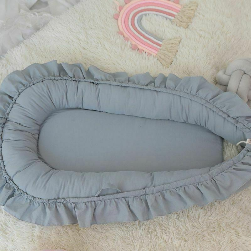 Removable Sleeping Baby Bed Pillow Travel Infant