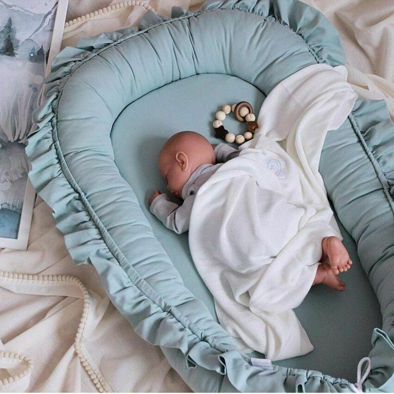 removable sleeping nest for baby bed crib