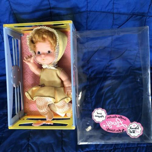 vintage lovely baby doll 1970s in play