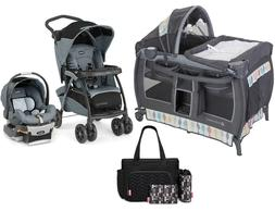 Maximum Comfort Travel System Chicco Baby Stroller with Car