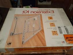 North States Navy Two Panel Super yard Play Pen Extension Ba