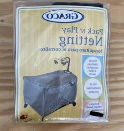 Graco Pack N Play Playard Insect Netting w/Storage Pouch - G