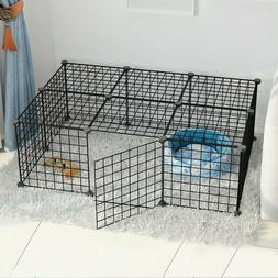 PET PLAYPEN HEAVY Duty Metal Cage Crate 16-Panel Dog Fence P