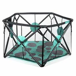Milliard Playard Portable Playpen with Extra Cushioning for