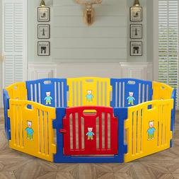 Playpen Safety Play Center Yard for Indoor & Outdoor Fence