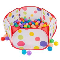 Pop Up Ball Pit Play Pen Tent for Babies and Toddlers Includ