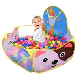 Safety Baby Playpen Kids Portable Square Net Ocean Pit Ball