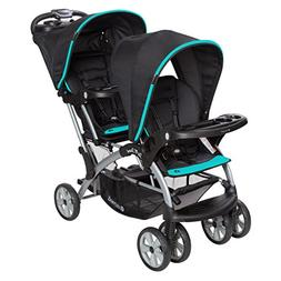 Baby Trend Sit n Stand Double Stroller, Optic Teal
