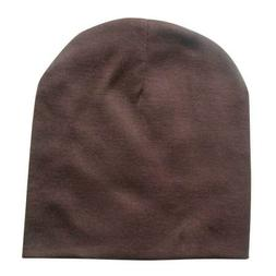 Playpen Baby® Solid Brown Cotton Baby Hat