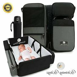 THE SMARTNEST BY WARMING WINGS BASSINET DIAPER BAG CHANGING
