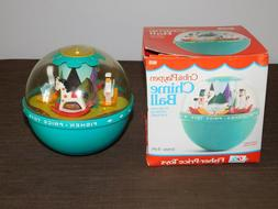 VINTAGE 1973 FISHER PRICE TOY CRIB & PLAYPEN CHIME BALL  NEW