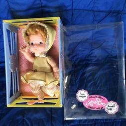 VINTAGE LOVELY BABY DOLL 1970's FUN WORLD  In PLAY PEN