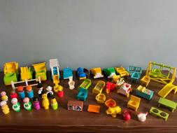 You Choose - Vintage Fisher Price Little People Accessories